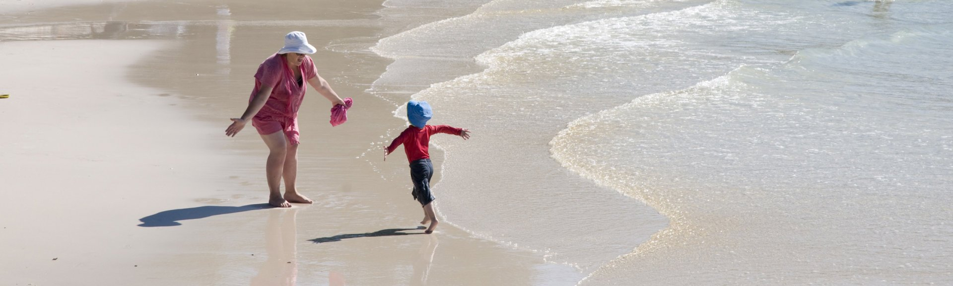 Have fun on the beach at Booderee National Park