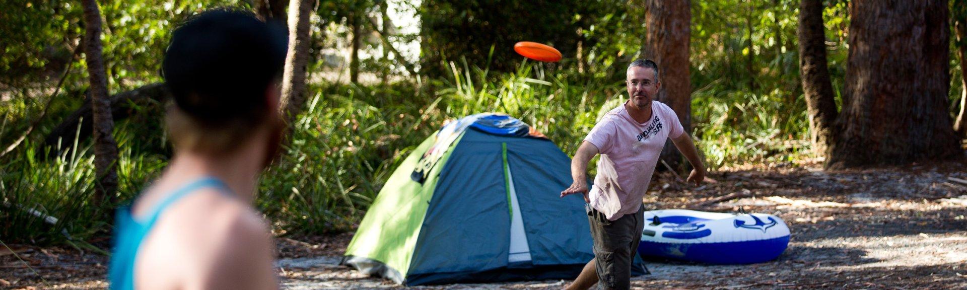 Christmas Camping Australia.Camping Booderee National Park