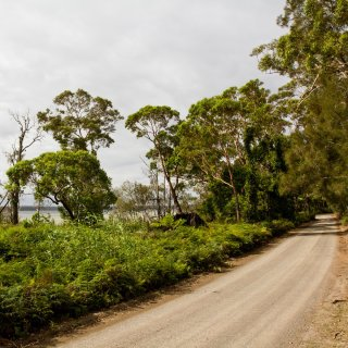 Ellmoos Road at Booderee National Park