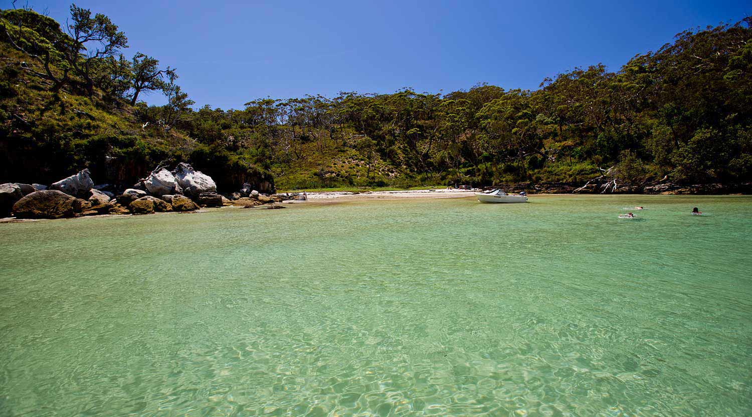 Whiting beach in Booderee National Park is stunning