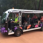 Free Flora Explorer rides for National Botanic Gardens Day