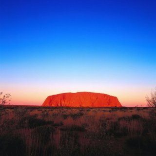 Sunrise at Uluru