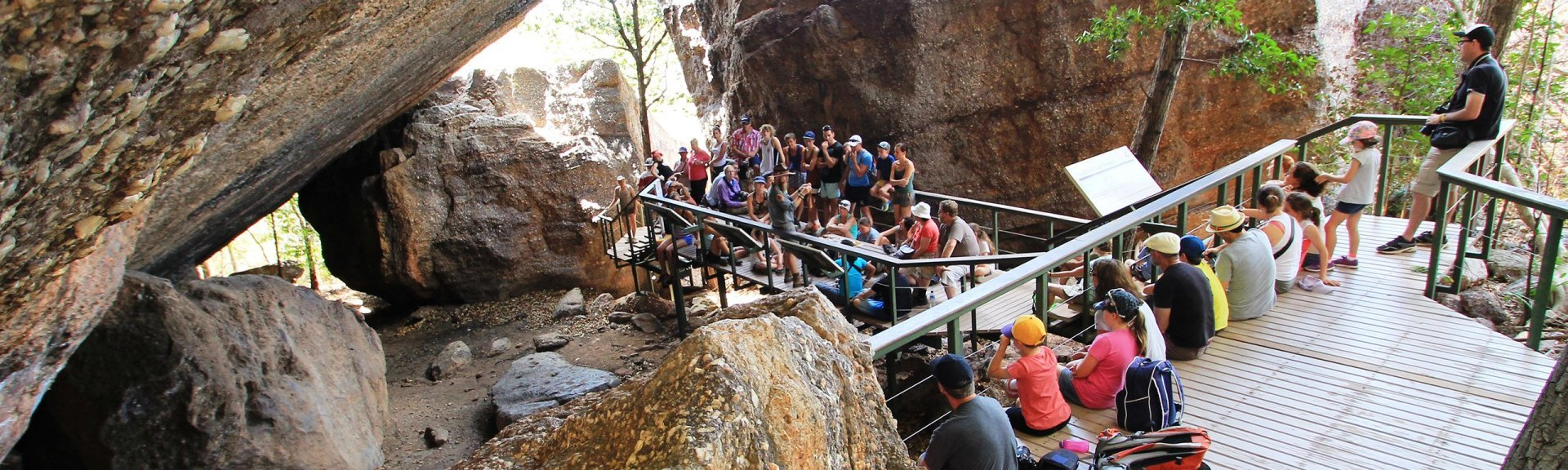 Ranger guided rock art talk