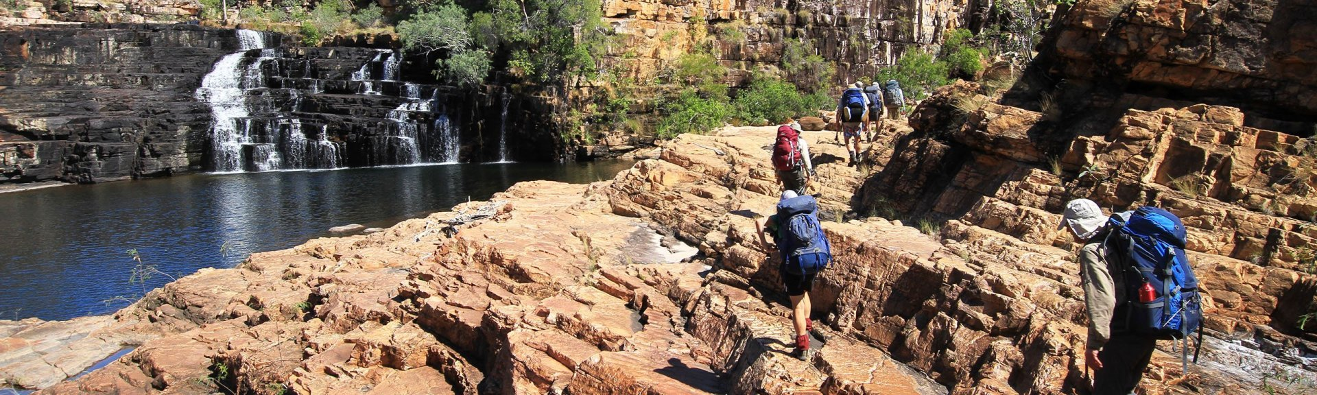 Trekking in Kakadu. Photo by Trek Tours.