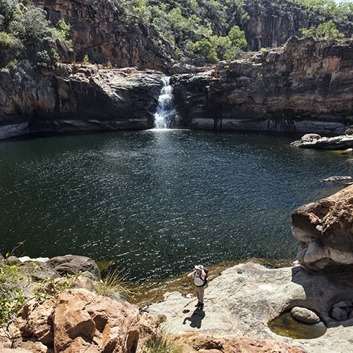 Koolpin Gorge. Photo by Lords Kakadu and Arnhem Land Safaris.