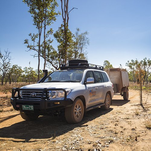 A 4WD vehicle. Picture by Venture North.