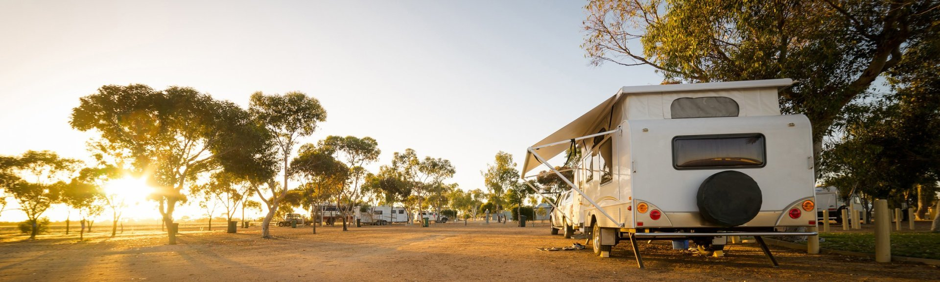 Caravans and camping in Kakadu