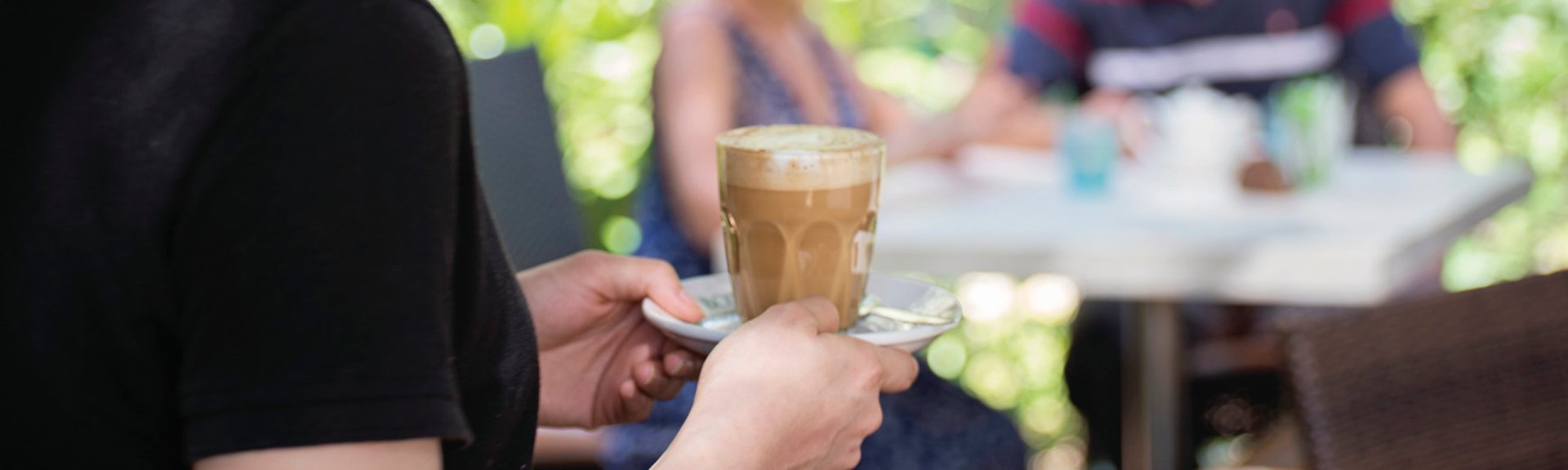 Enjoy a coffee in Kakadu. Photo by Shaana McNaught Tourism NT.
