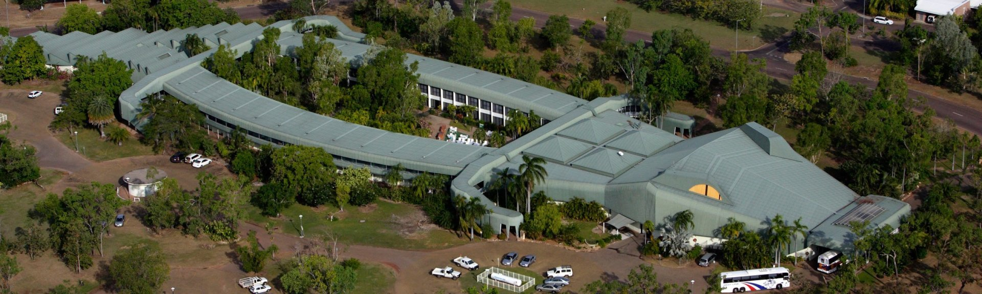 Aerial view of Mercure Kakadu Crocodile Hotel