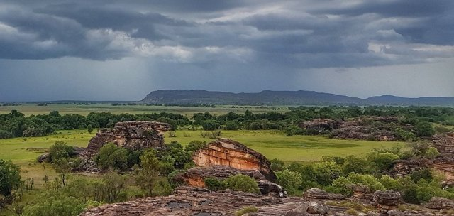 Storms over Ubirr