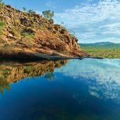 Views across Kakadu from Gunlom's top pools. Credit Spirit of Kakadu Adventure Tours