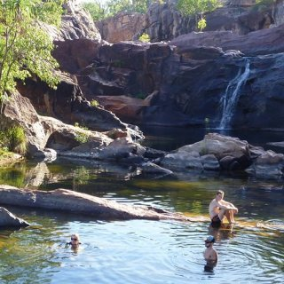 Gunlom infinity pool. Photo: Kakadu 4WD Safaris