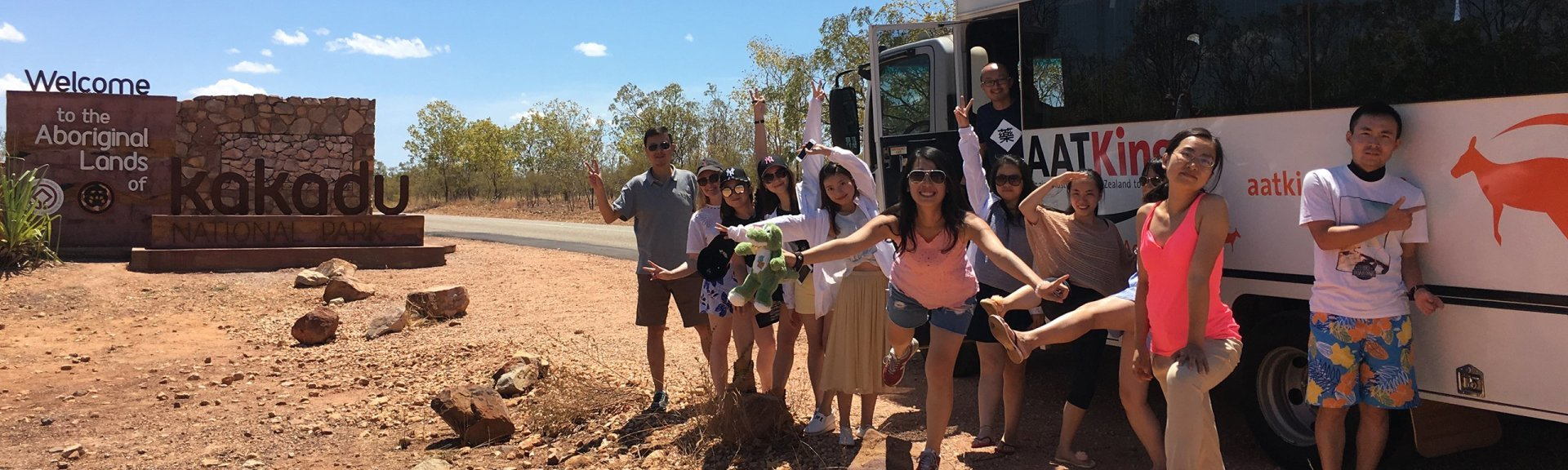 Sightseeing in Kakadu. Photo: North Tours