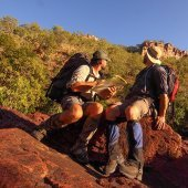 Bushwalkers. Photo: NT Immersions