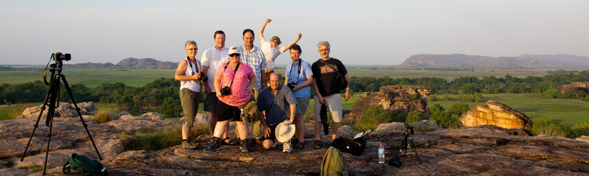 Photography tour at Ubirr. Photo: Andrew Goodall