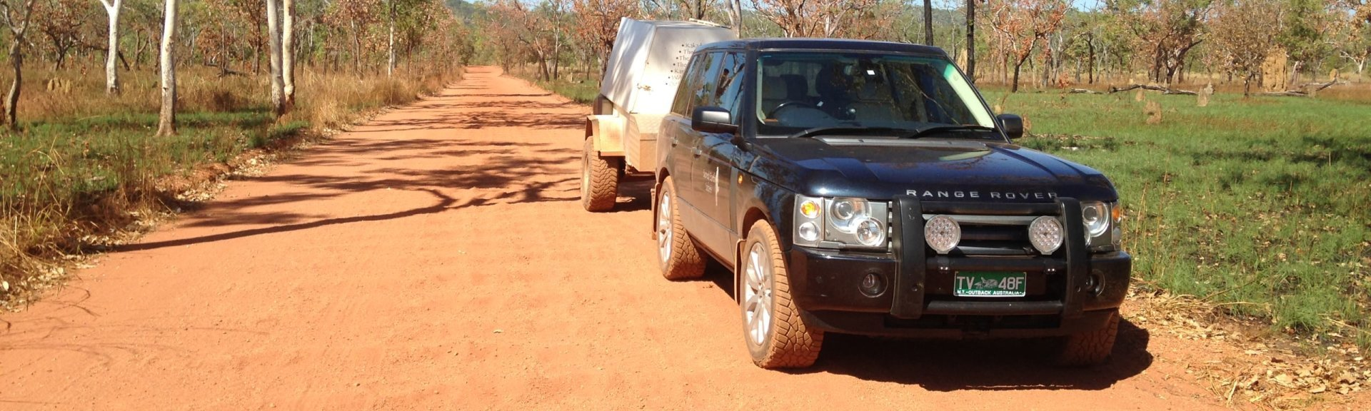 One of Sacred Earth's 4WD vehicles. Photo: Sacred Earth Safaris