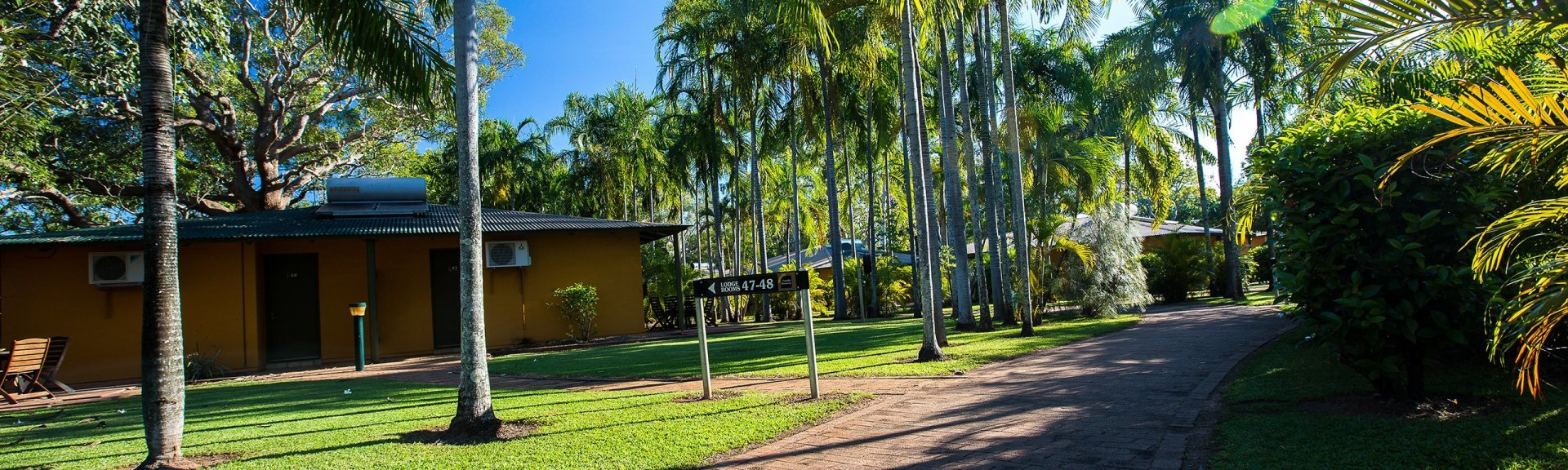 Grounds of Cooinda Lodge