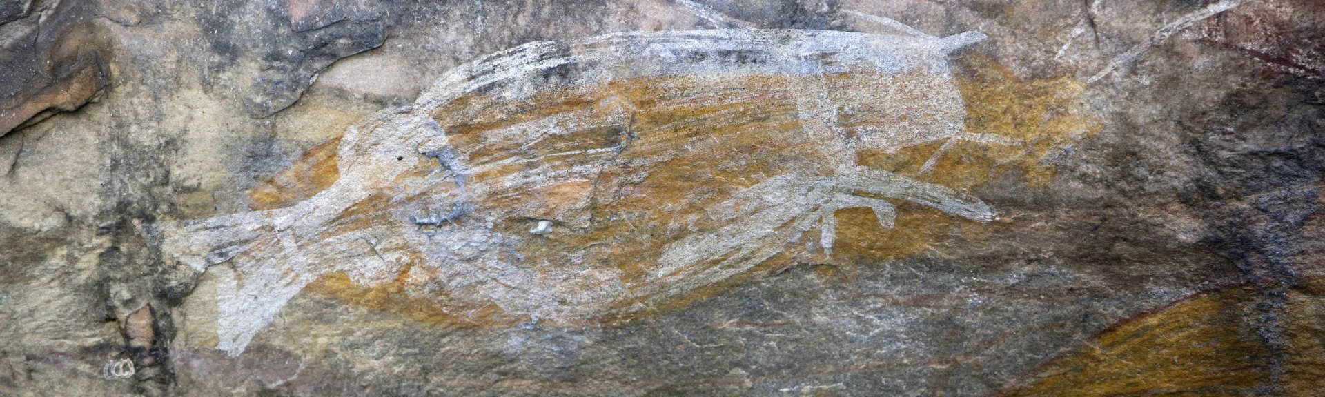 Aboriginal cave paintings, Ubirr Rock, Kakadu National Park. Photo by Michelle McAulay.