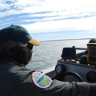 Djelk rangers patrol large areas of sea country in the Northern Territory