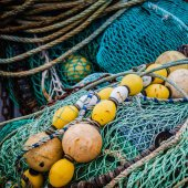 Commercial fishing netting