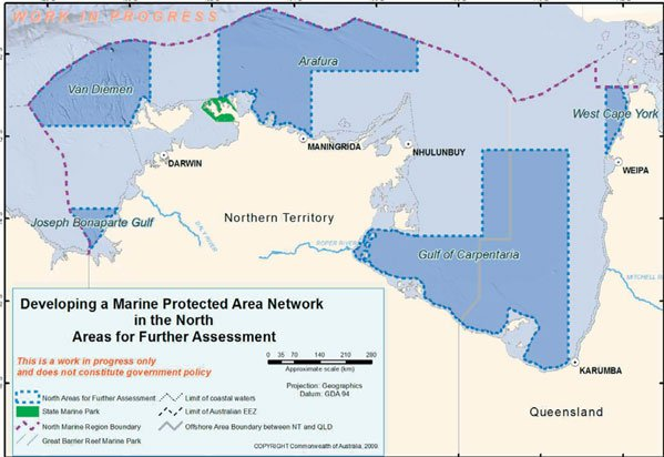 Areas for Further Assessment in the North Marine Region