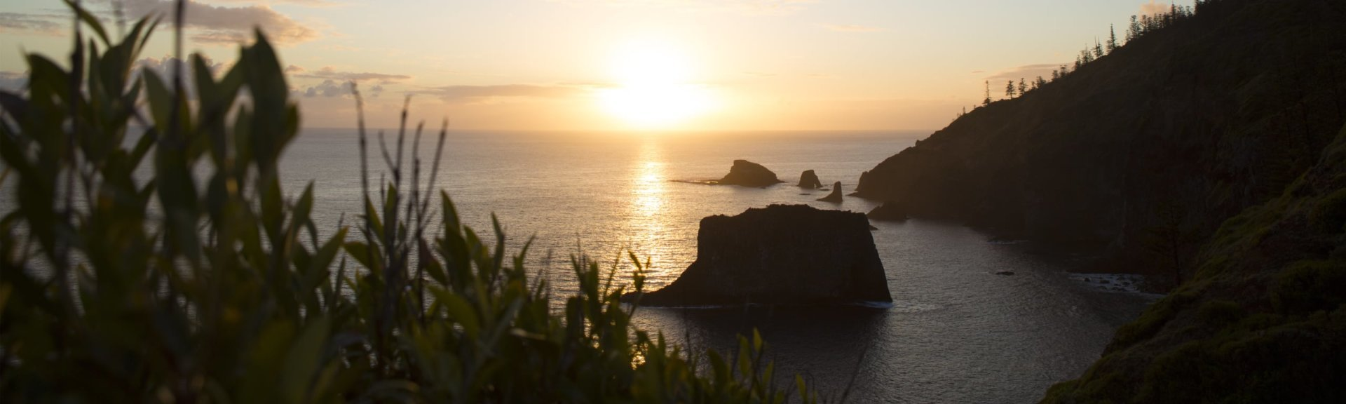 Sunrise at Captain Cook Lookout. Photo: Norfolk Island Tourism