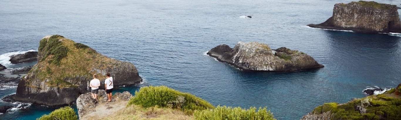 Offshore islets. Photo: Norfolk Island Tourism
