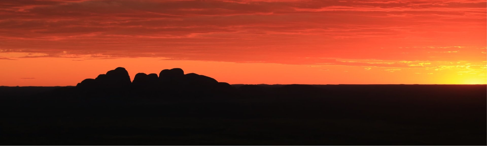 Kata Tjuta at sunset. Photo: Corinne Le Gall