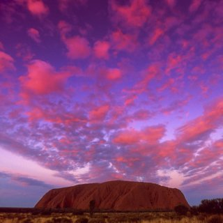 Sunset at Uluru. Photo: Tourism NT