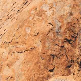 Close up of the surface of Uluru